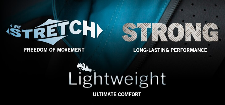 STRETCH - STRONG - LIGHTWEIGHT - MASCOT®