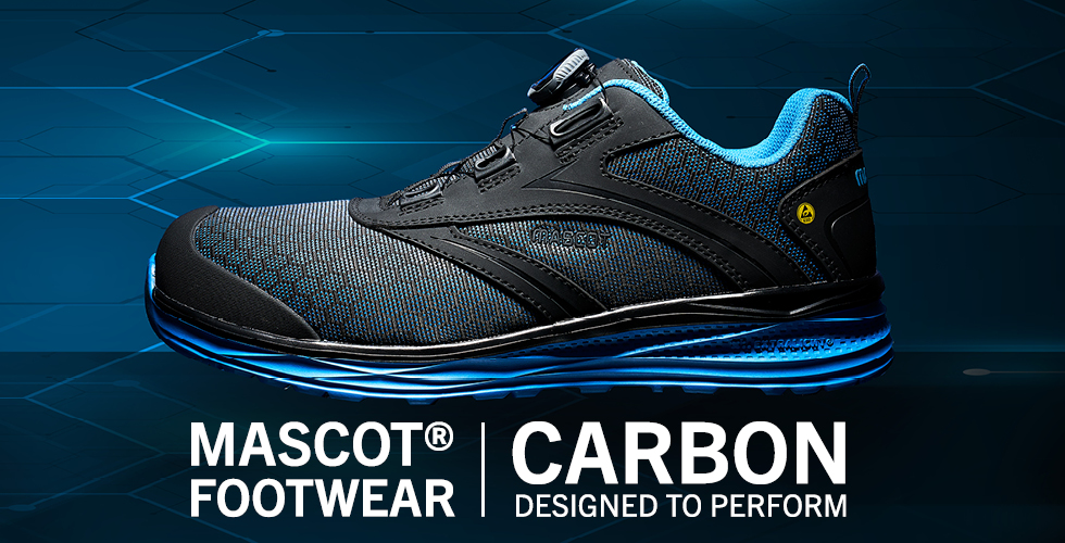 2020 - MASCOT® FOOTWEAR CARBON | Designed to Perform-Scarpe antinfortunistiche-BOA® Fit System, F0251-909