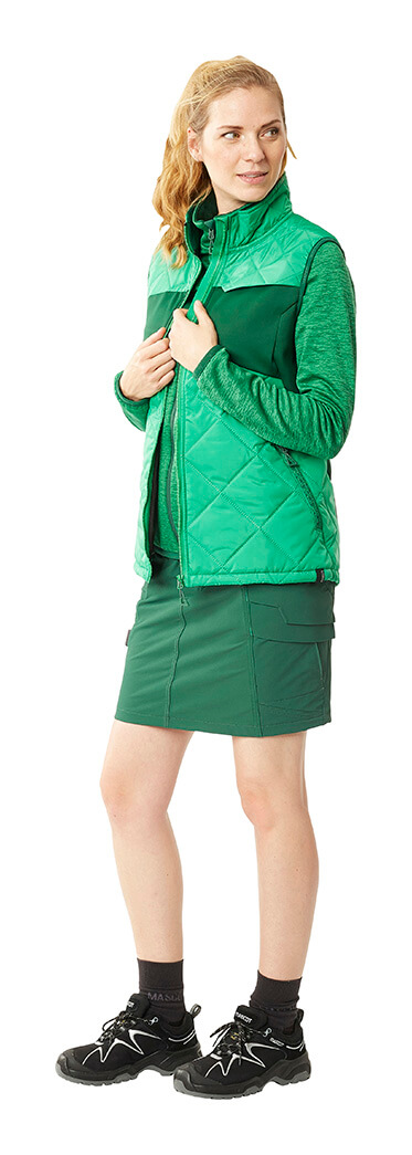 MASCOT® ACCELERATE Gonna, Gilet Termico & Maglie - Verde - Donna