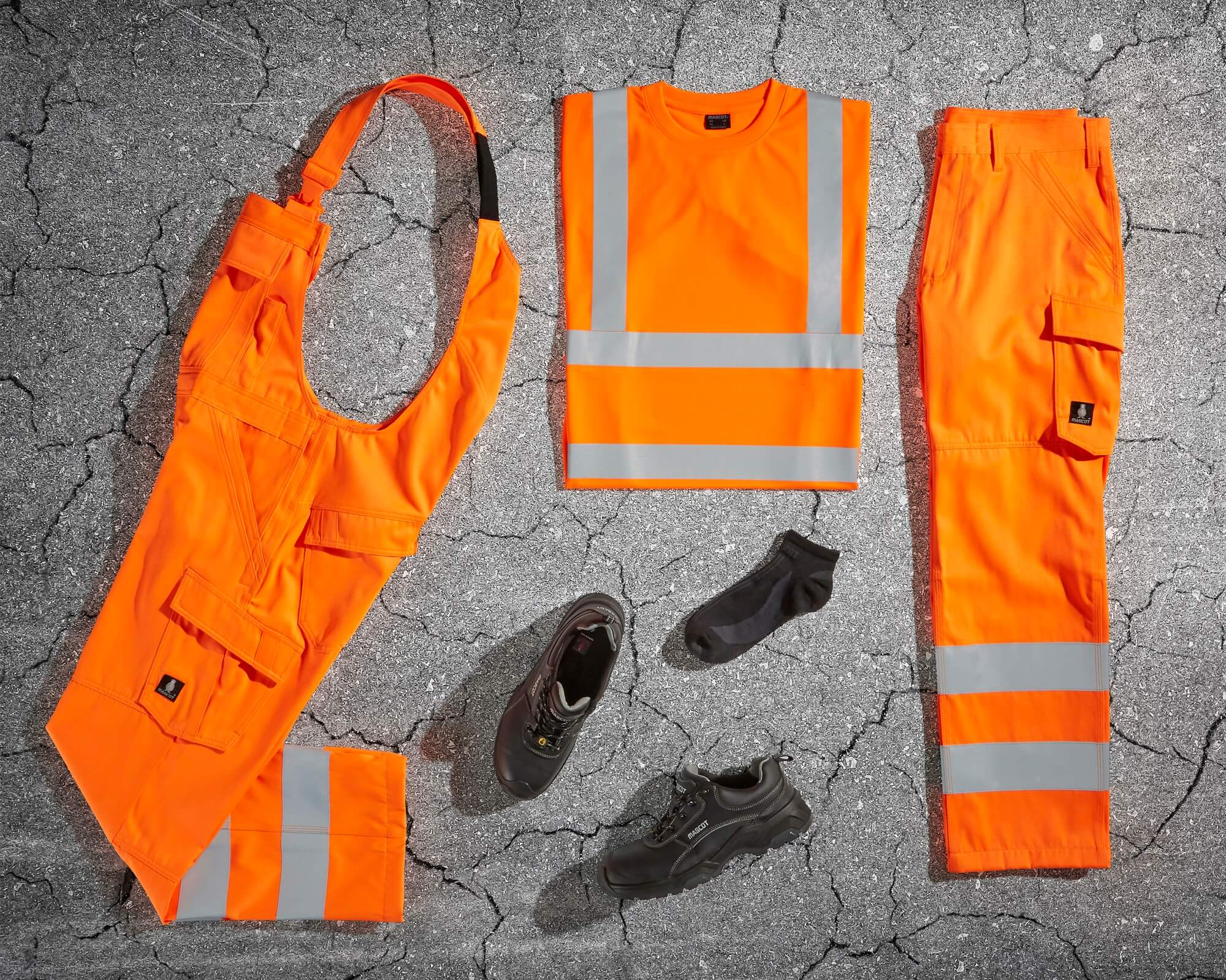 MASCOT® SAFE LIGHT - Hi-vis arancio - Abbigliamento antinfortunistica